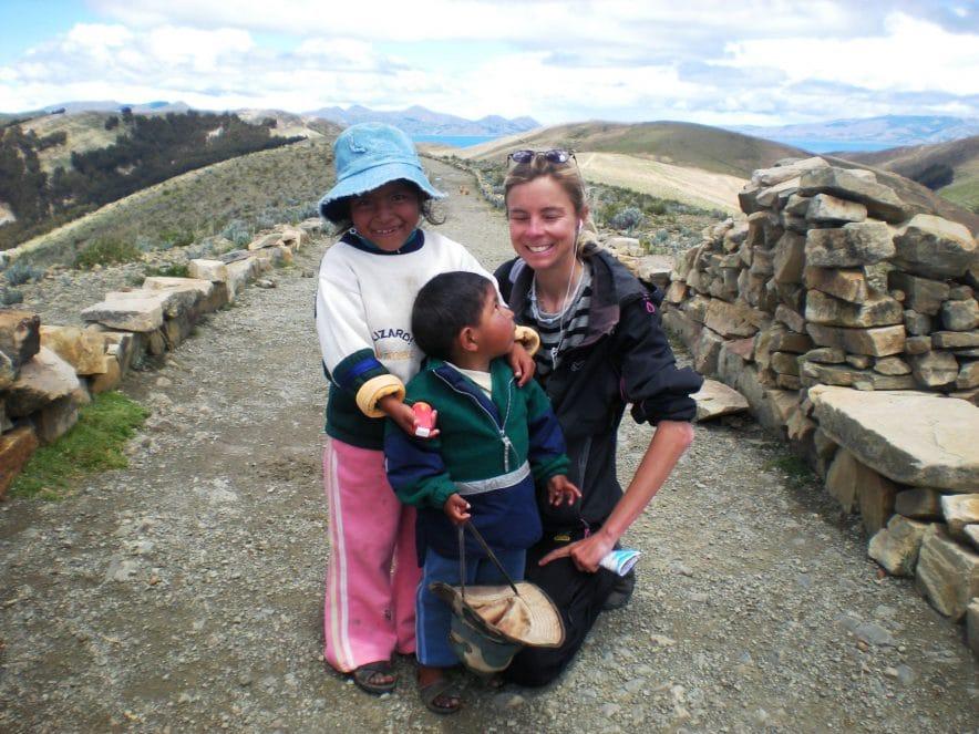 bolivie ile du soleil enfants