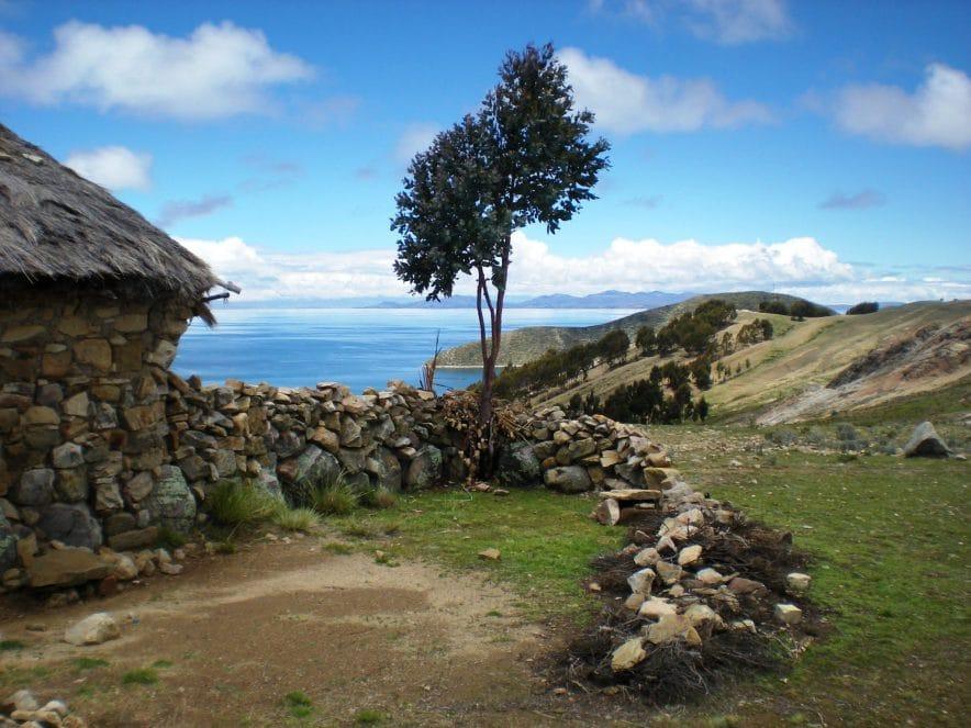 bolivie ile du soleil maison