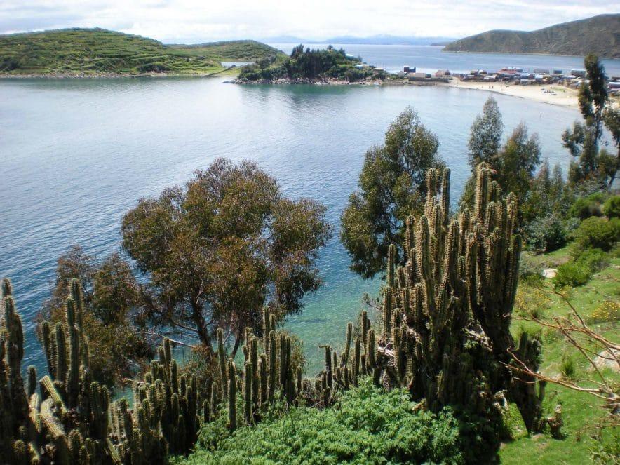 bolivie ile du soleil paysage