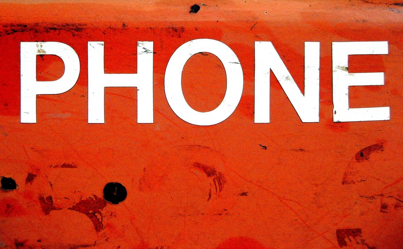 phone urgence