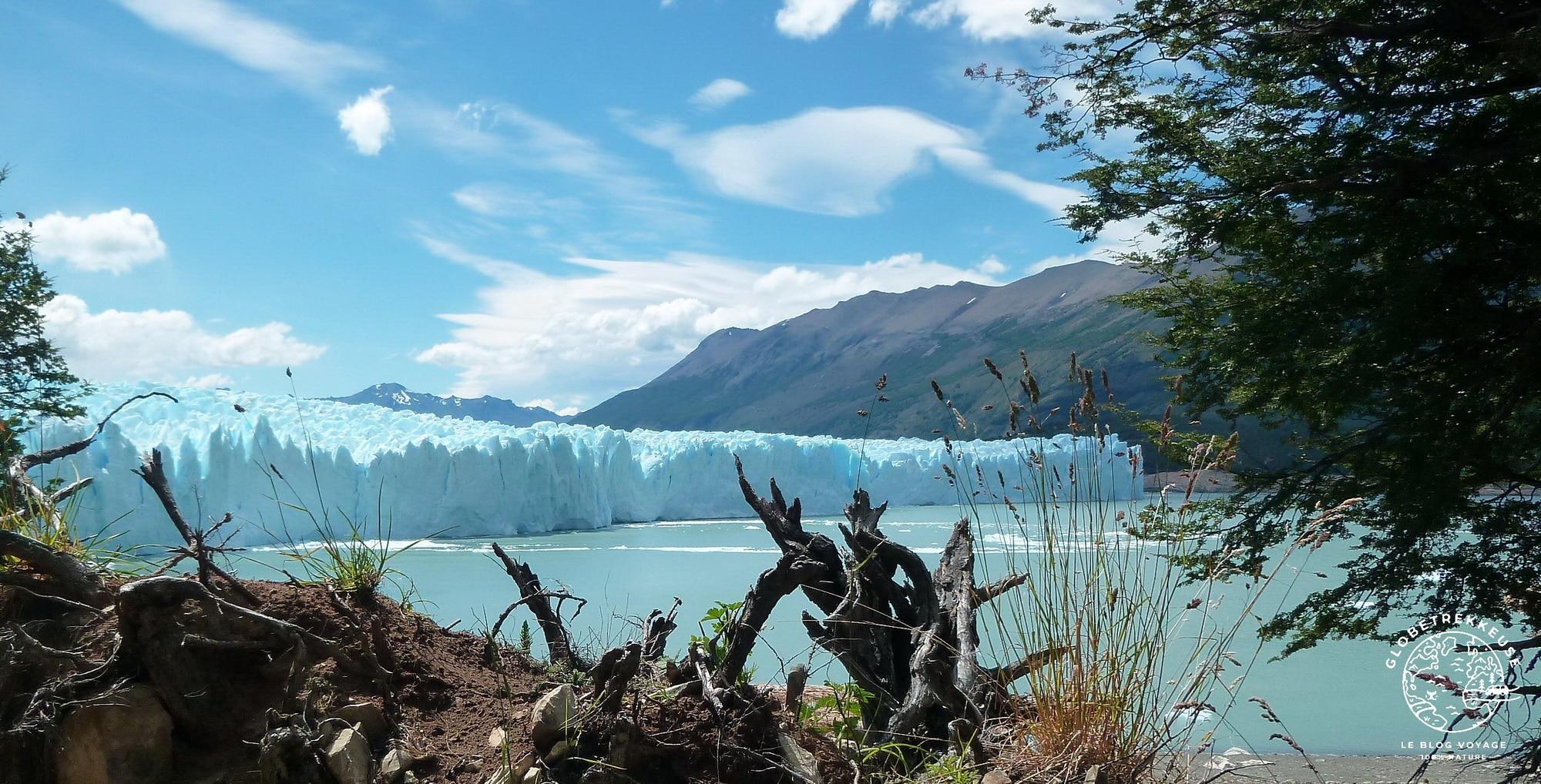 visiter la patagonie perito moreno globetrekkeuse