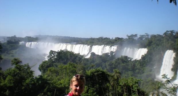 Chutes d'IGUAZU : 6 millions de litres d'eau par seconde