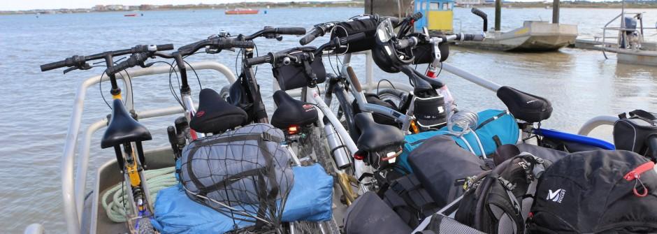 La Charente-Maritime à vélo (Rochefort-Oléron-La Rochelle)