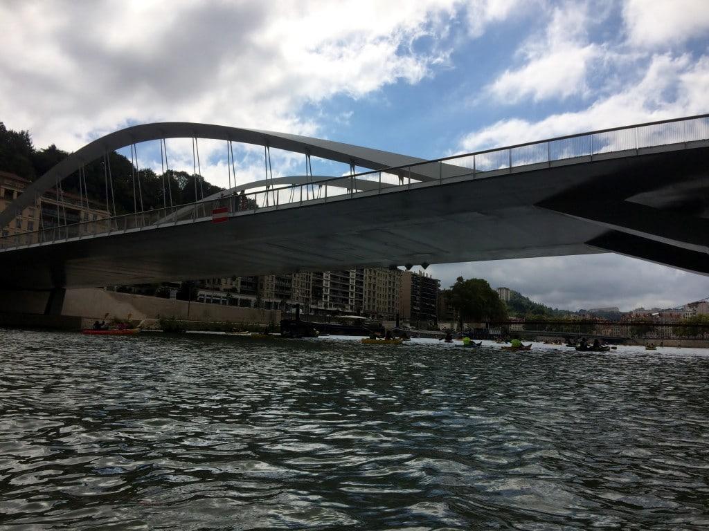 Arrivée miraculeuse jusqu'au pont Schuman...