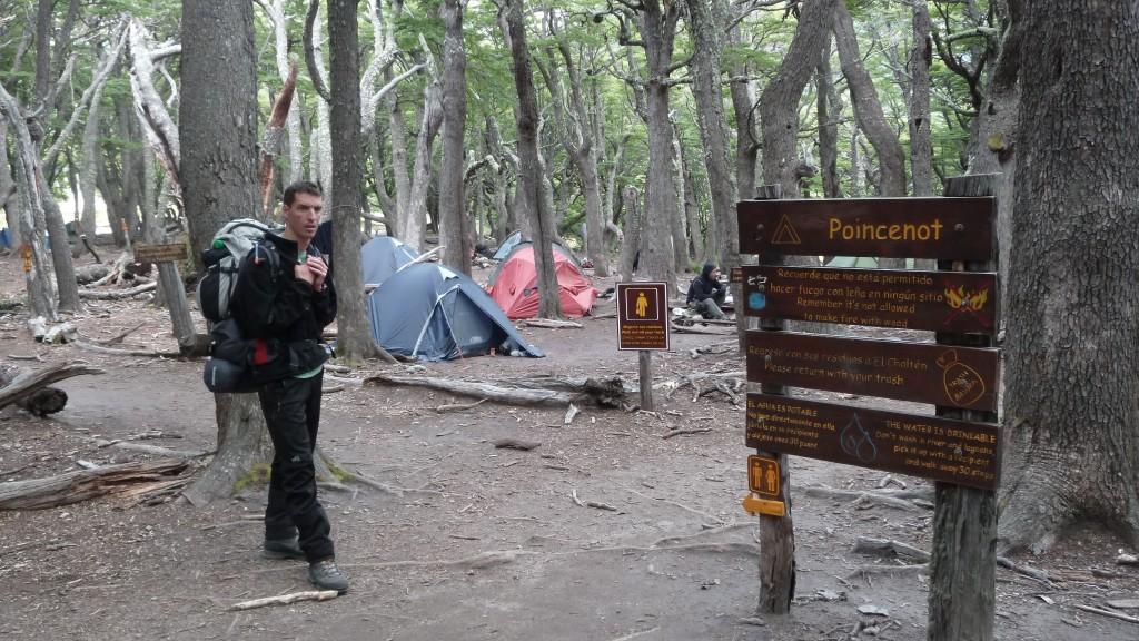 argentine-el chaltén-camping