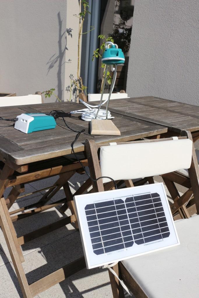 énergie solaire-kit