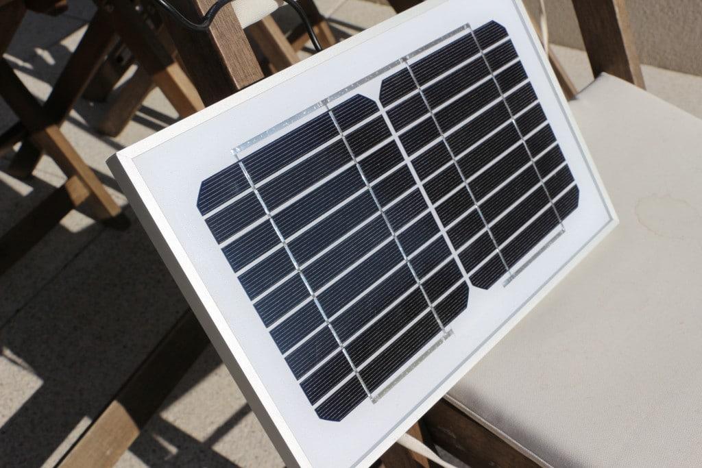 énergie solaire-panneau