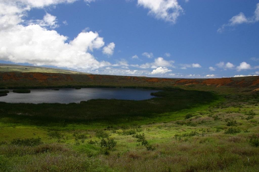 île de pâques paysage