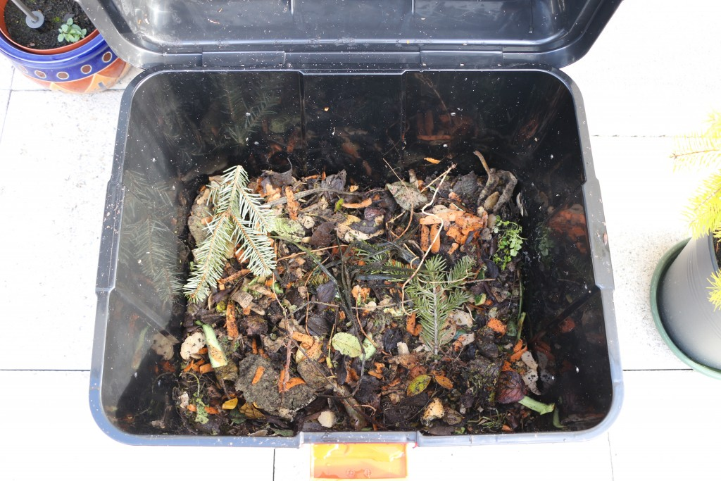 compostage : bac à compost J3
