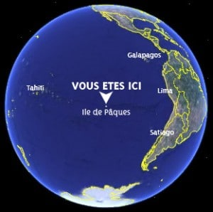île de pâques monde