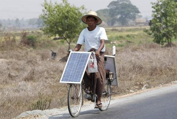 velo energie solaire