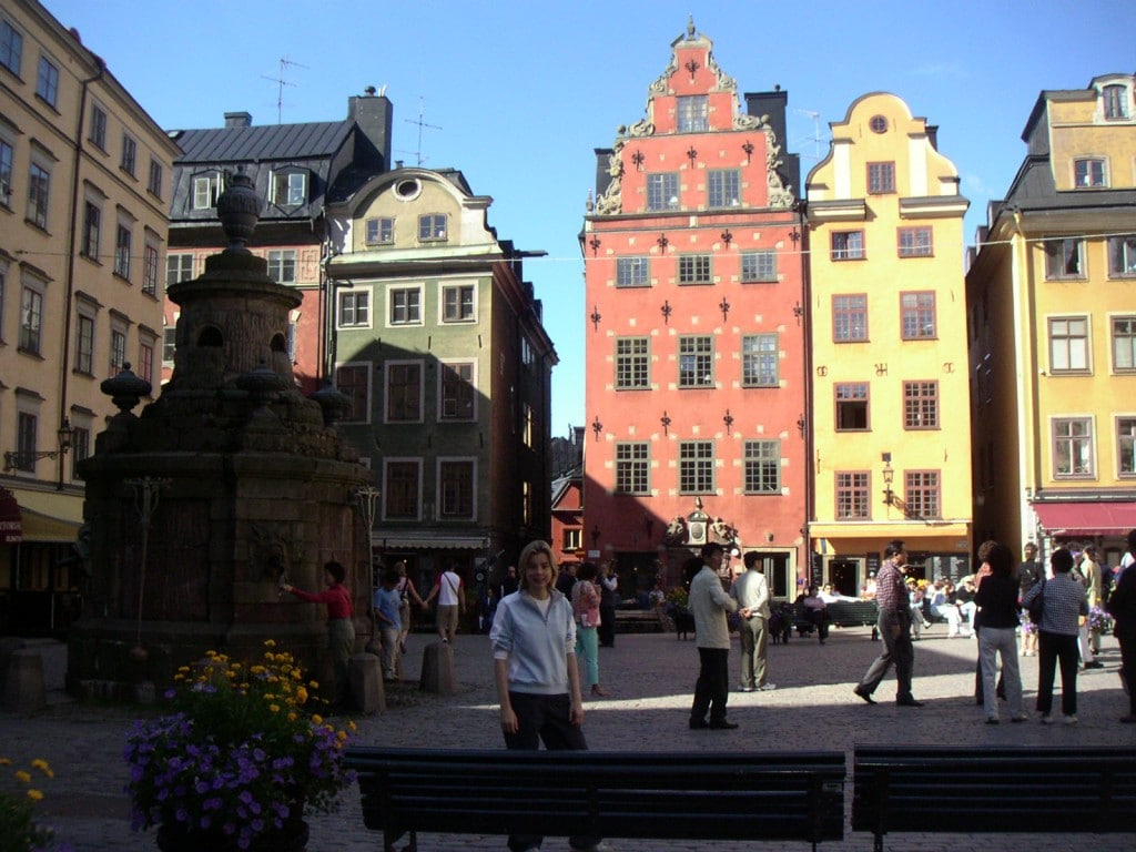 europe stockholm globetrekkeuse