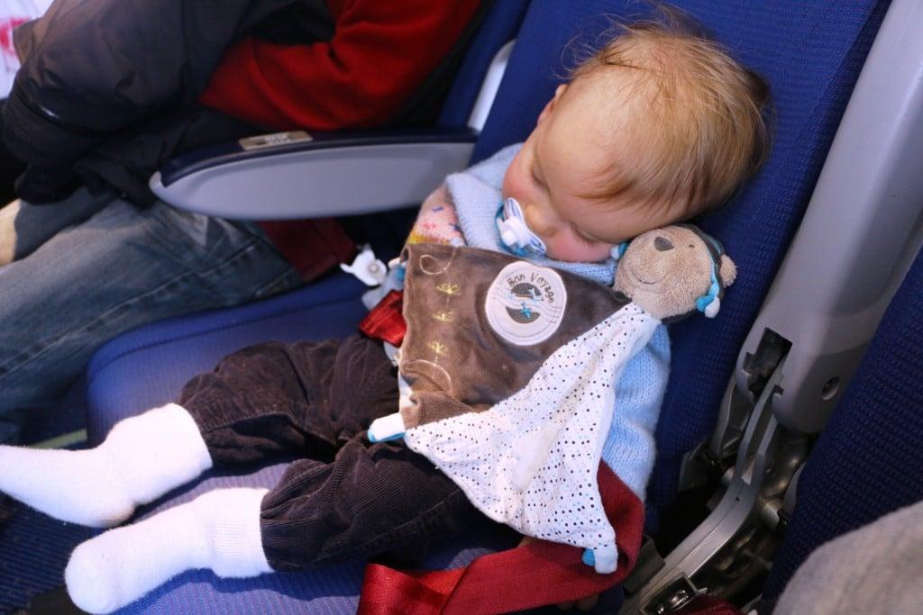 voyage avec bébé avion