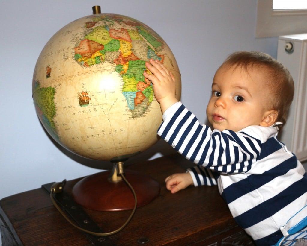 voyage avec bébé globe