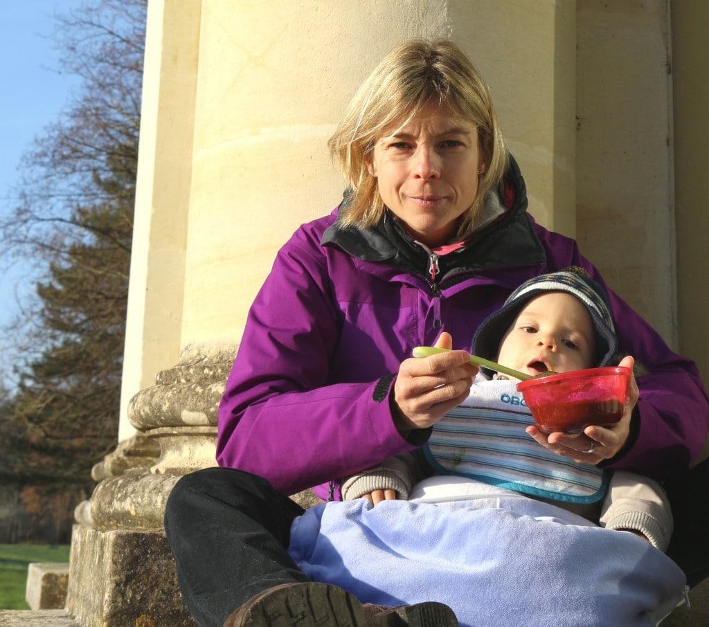 voyage avec bébé repas