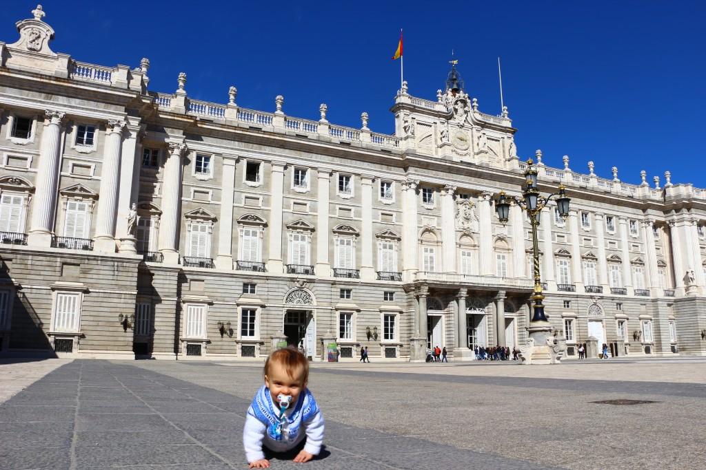 Visite de Madrid palais royal