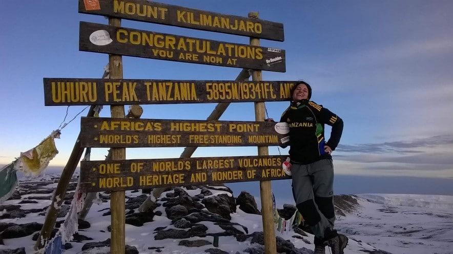 ascension du kilimandjaro sommet