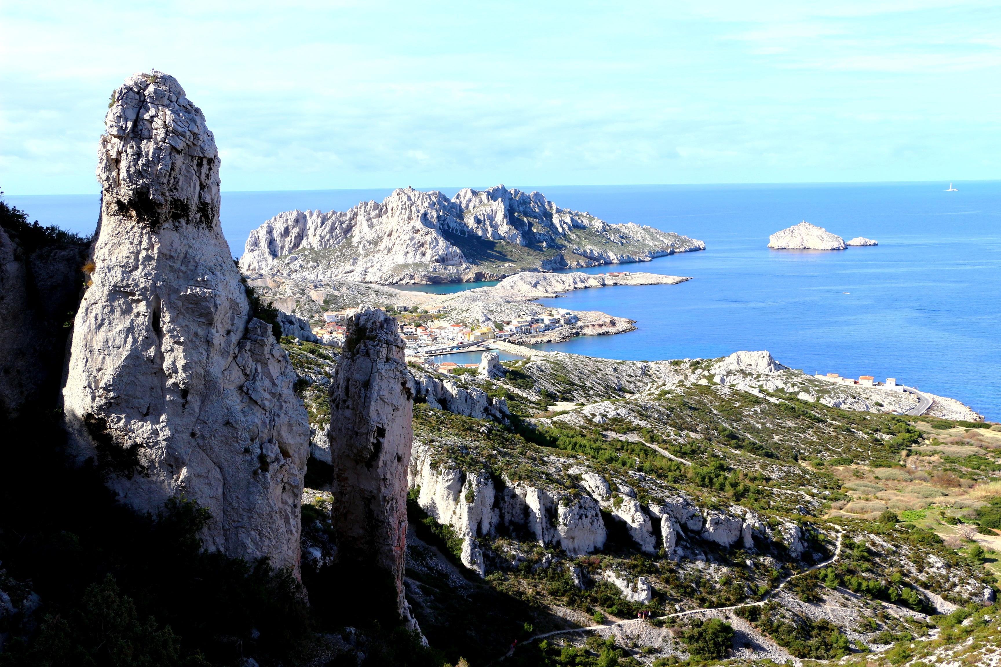 Globetrekkeuse blog voyage nature calanques - Salon de la randonnee ...