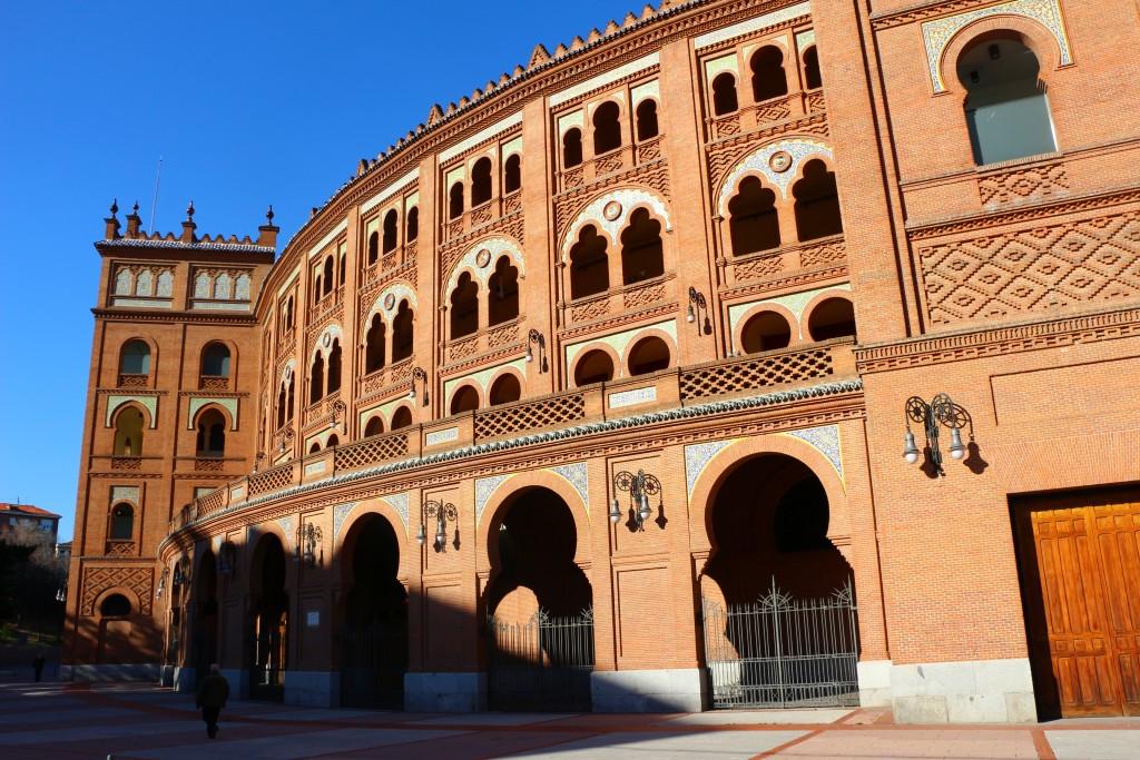 visite de madrid plaza toros