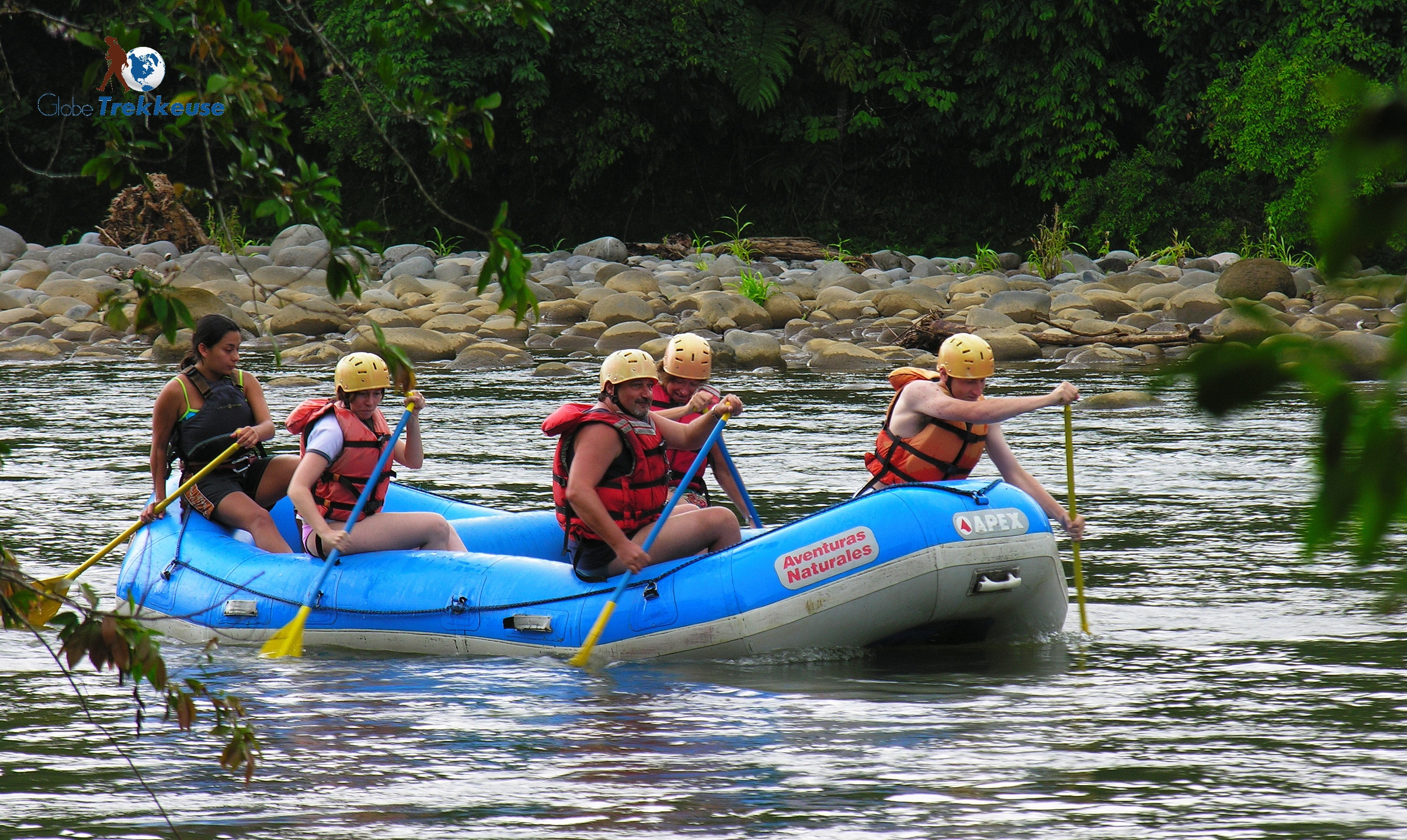 voyage au costa-rica rafting