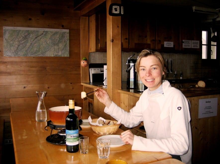 gastlosen randonnee fondue