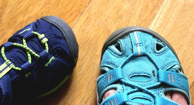 Sandales de randonnée enfant, testées par bébé-trekkeur !