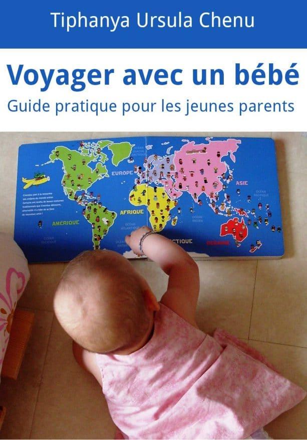voyager avec un bebe livre