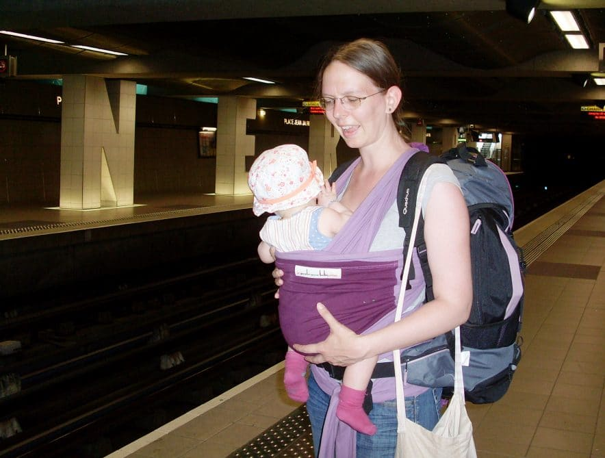 voyager avec un bebe tiphanya
