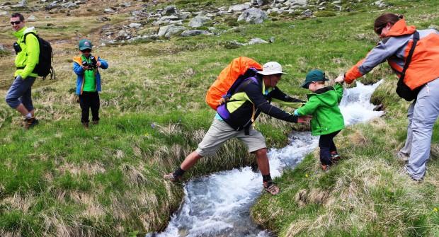 Randonner avec des enfants : rêve ou réalité ?