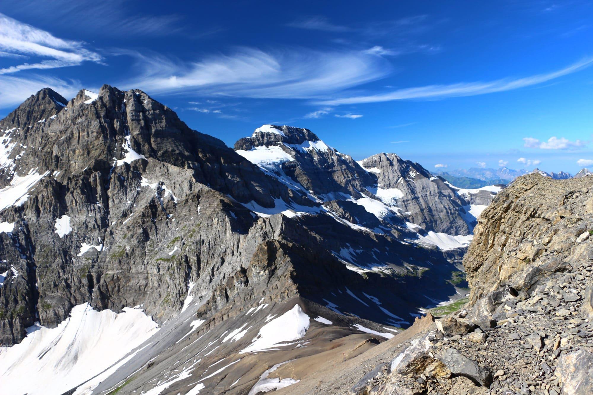 Dents du Midi haute-cime