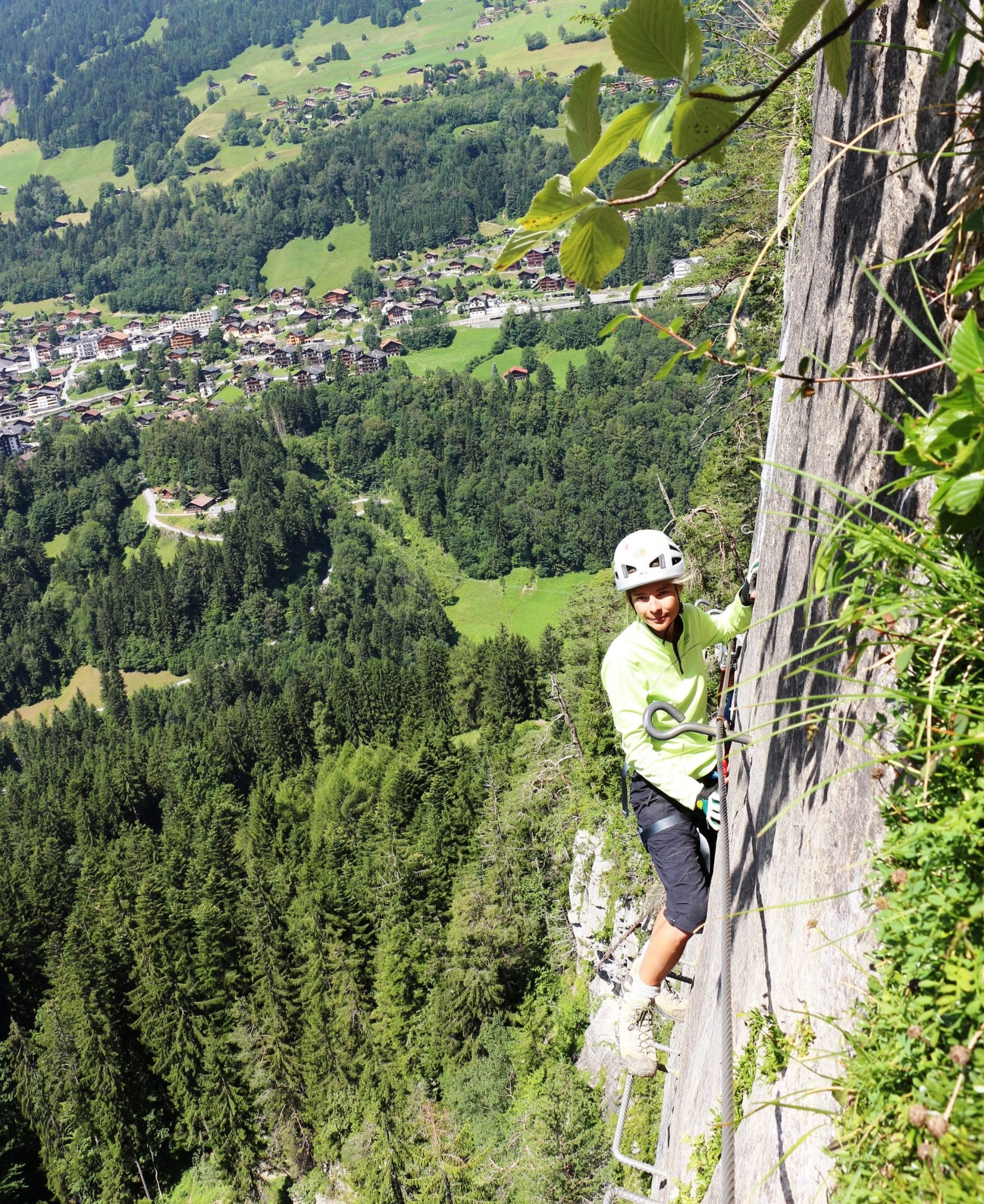 champery via ferrata tiere