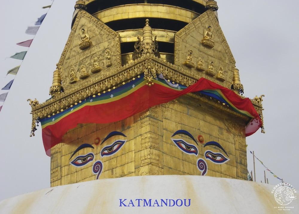 nepal katmandou bouddha