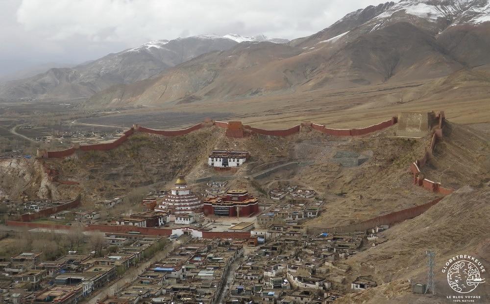 tibet temple gyantse