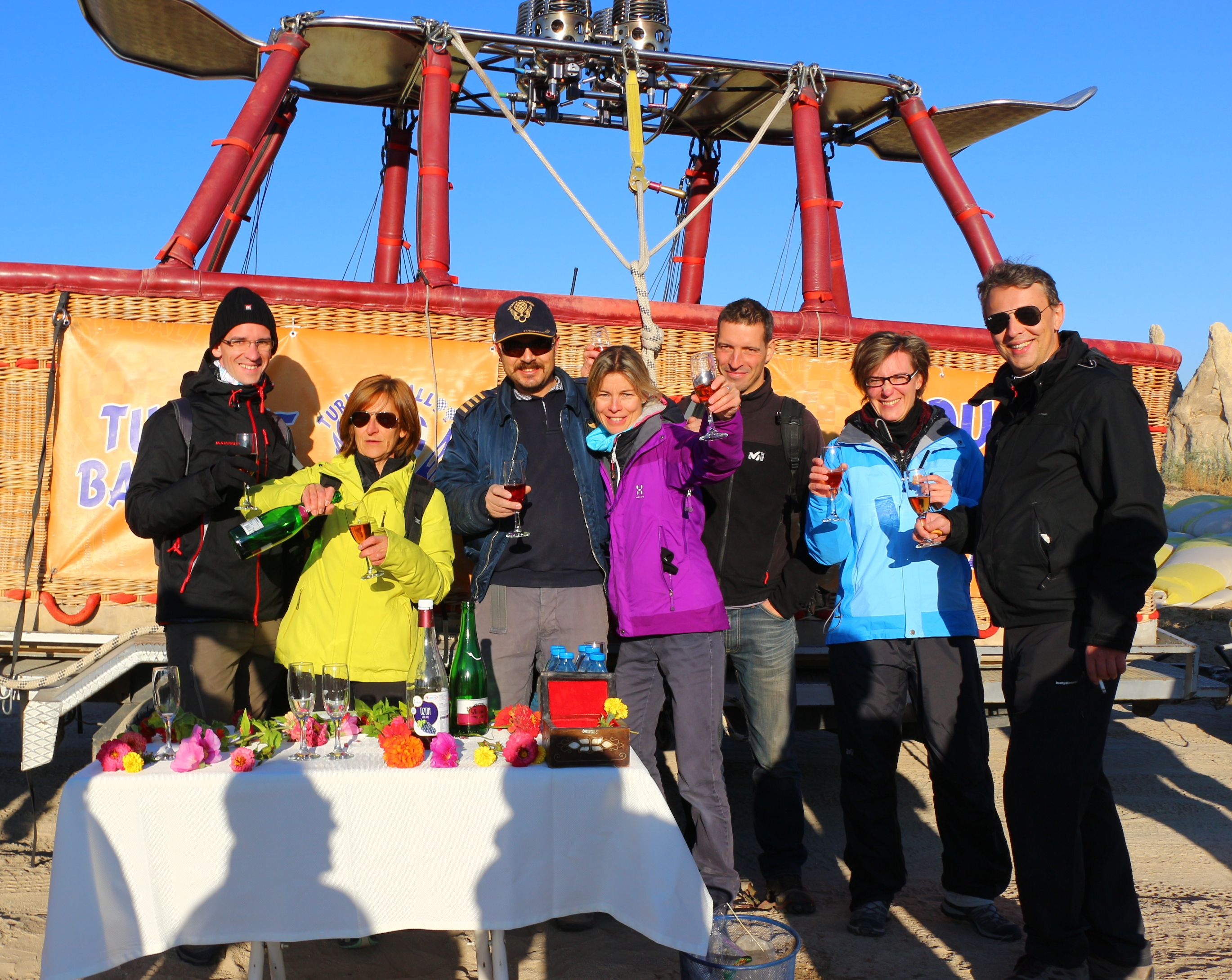 montgolfiere en cappadoce groupe