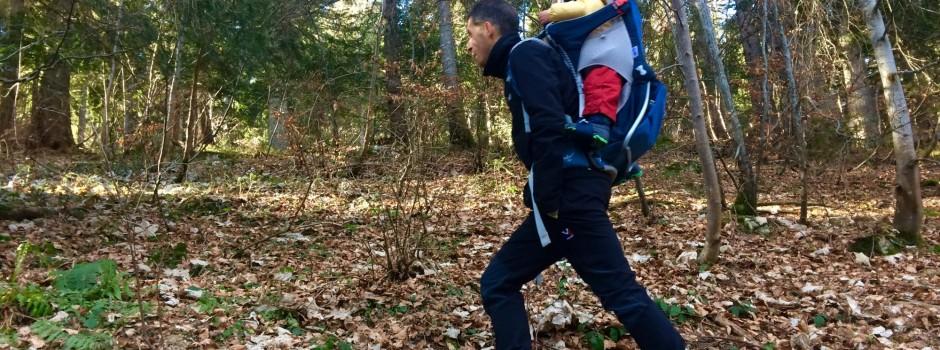Test Matériel : Porte-bébé de randonnée OSPREY Poco AG