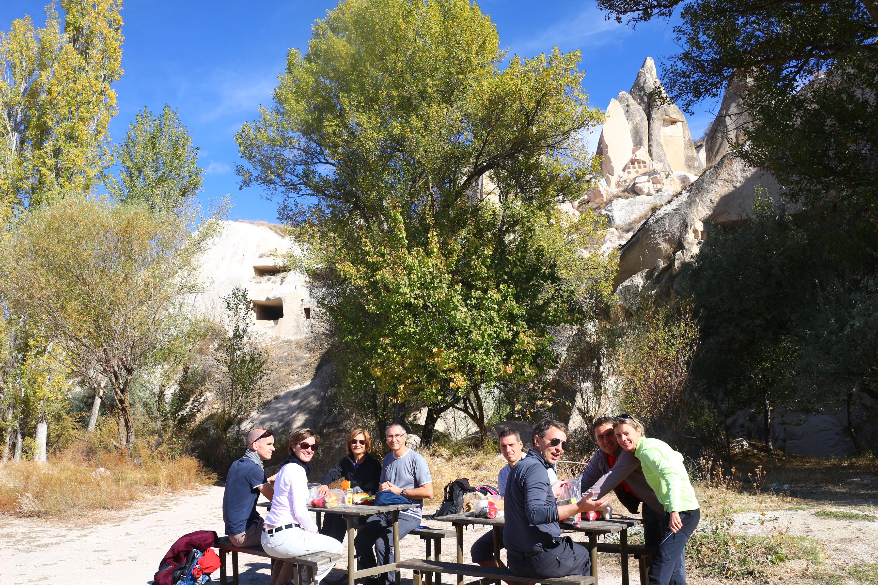 randonnee en cappadoce piquenique godema