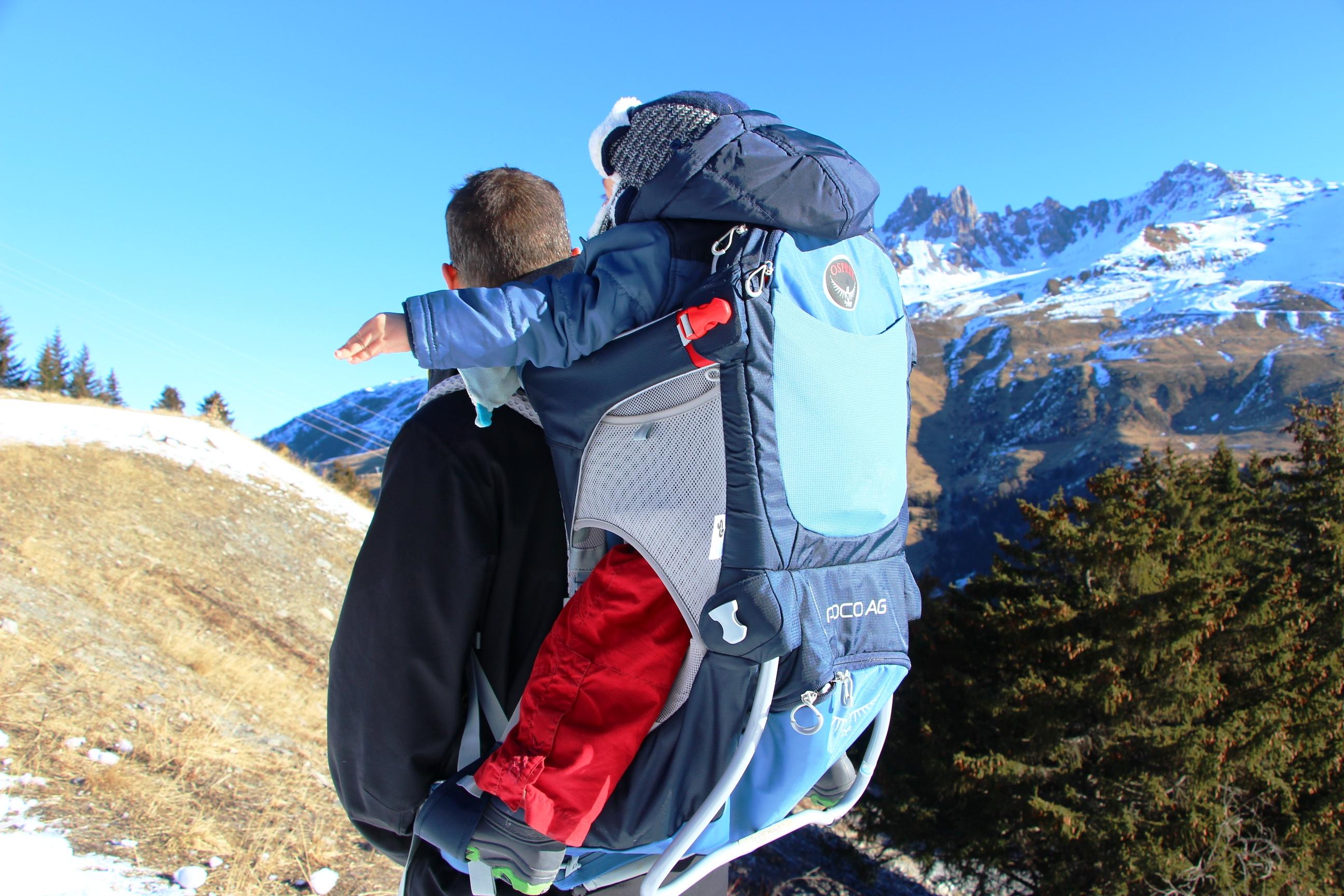 porte-bebe de randonnee montagne