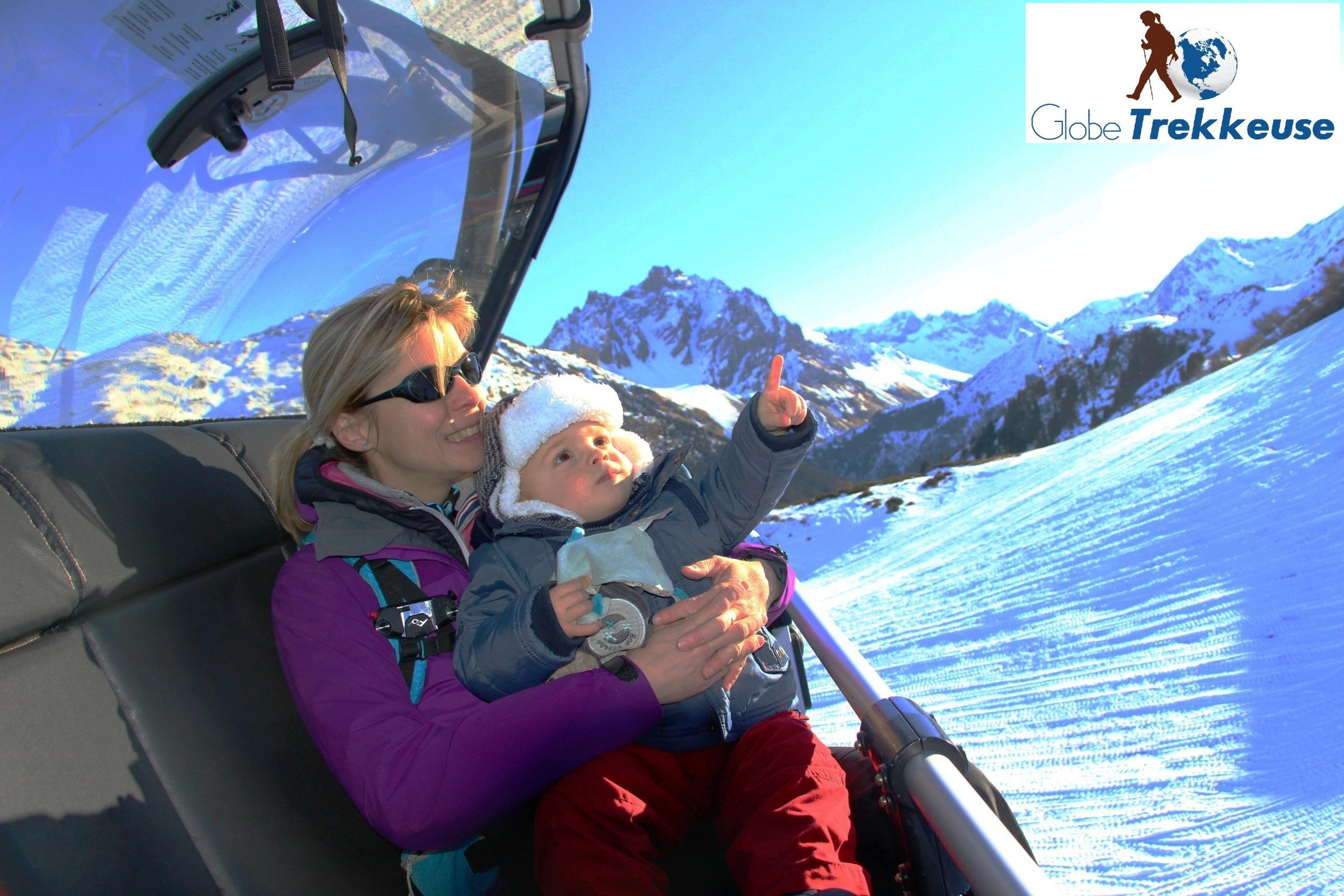 vacances neige avec bebe telesiege-savoie