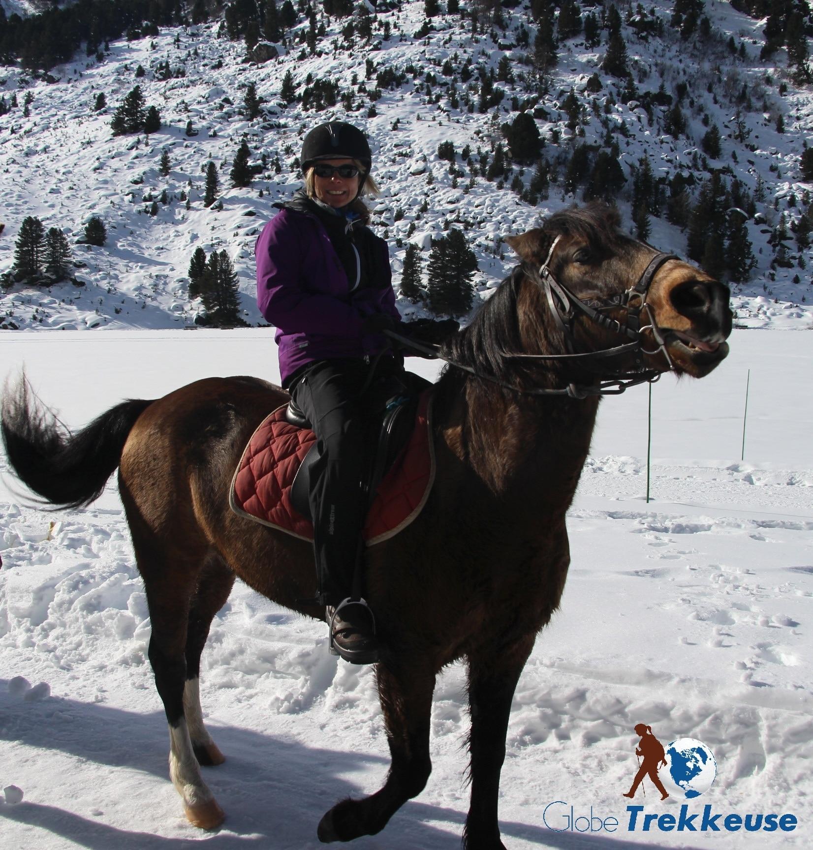 coeur equestre meribel cavaliere