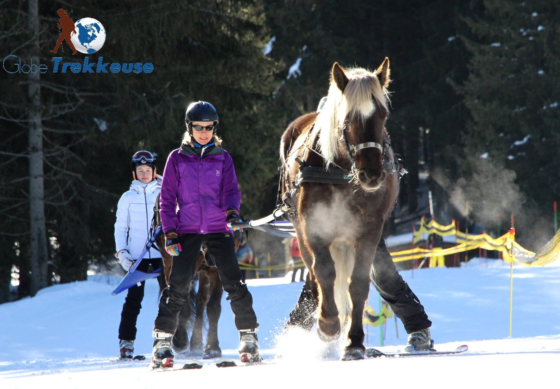 coeur equestre meribel skijoering-nature