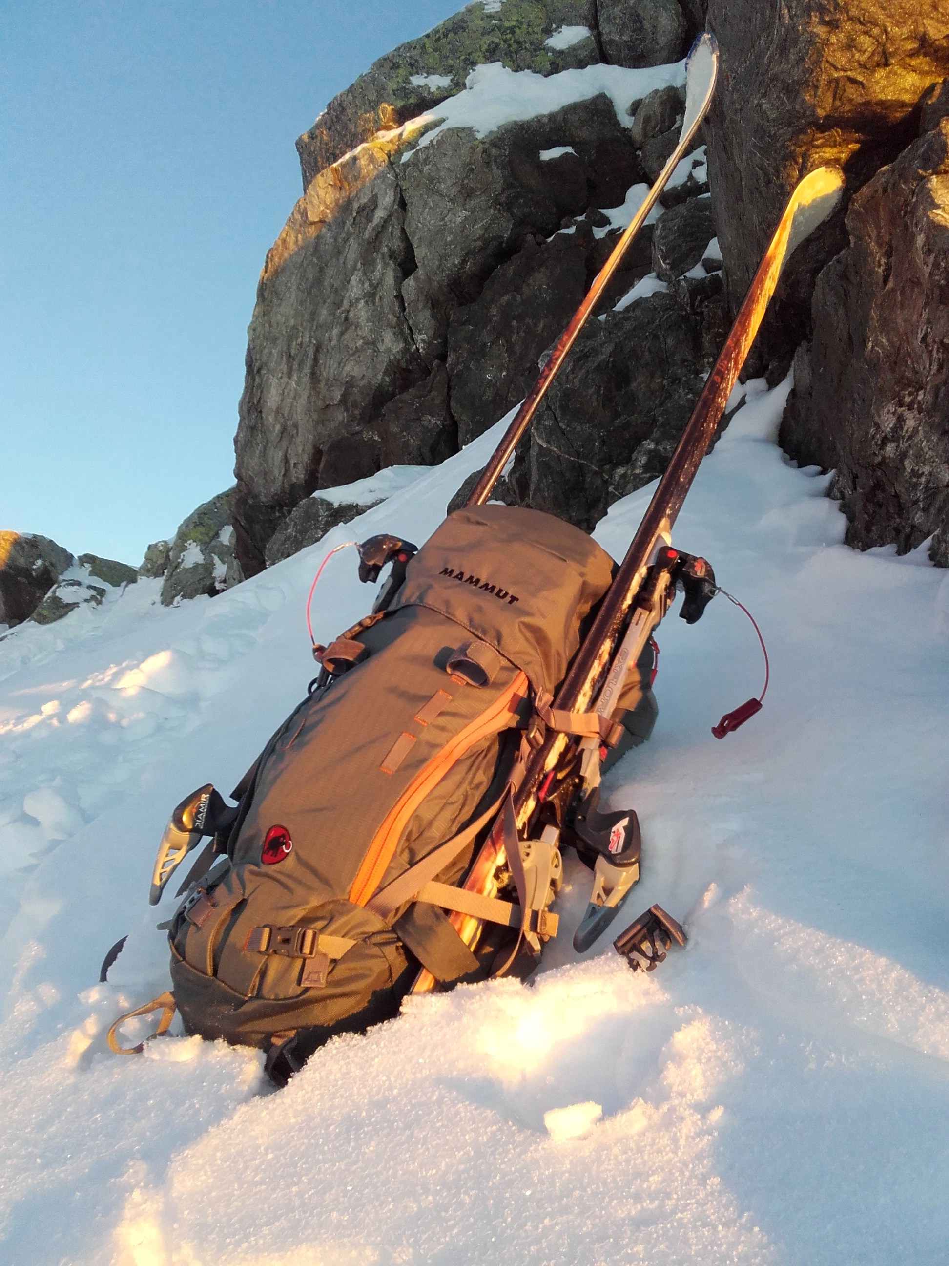sac a dos mammut trion pro-50
