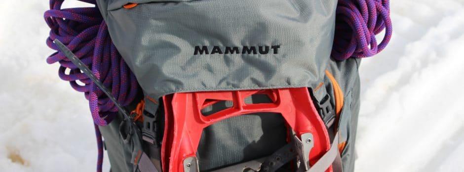 Sac à dos MAMMUT Trion Pro 50l +7 (alpinisme, ski de rando) – TEST