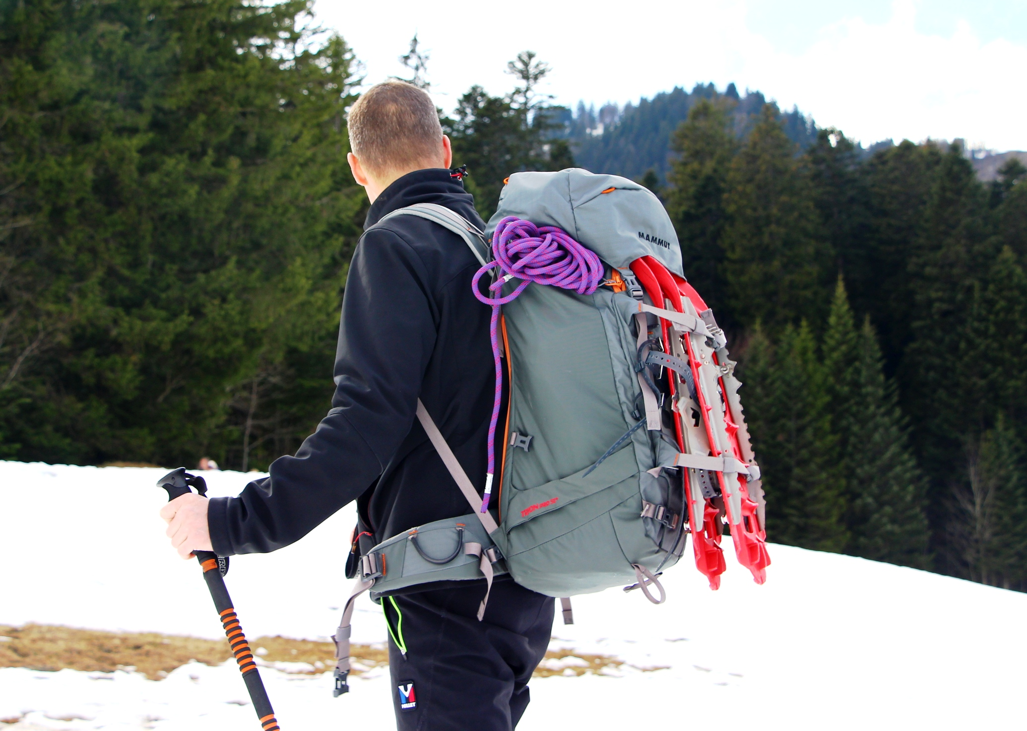 sac a dos mammut trion test