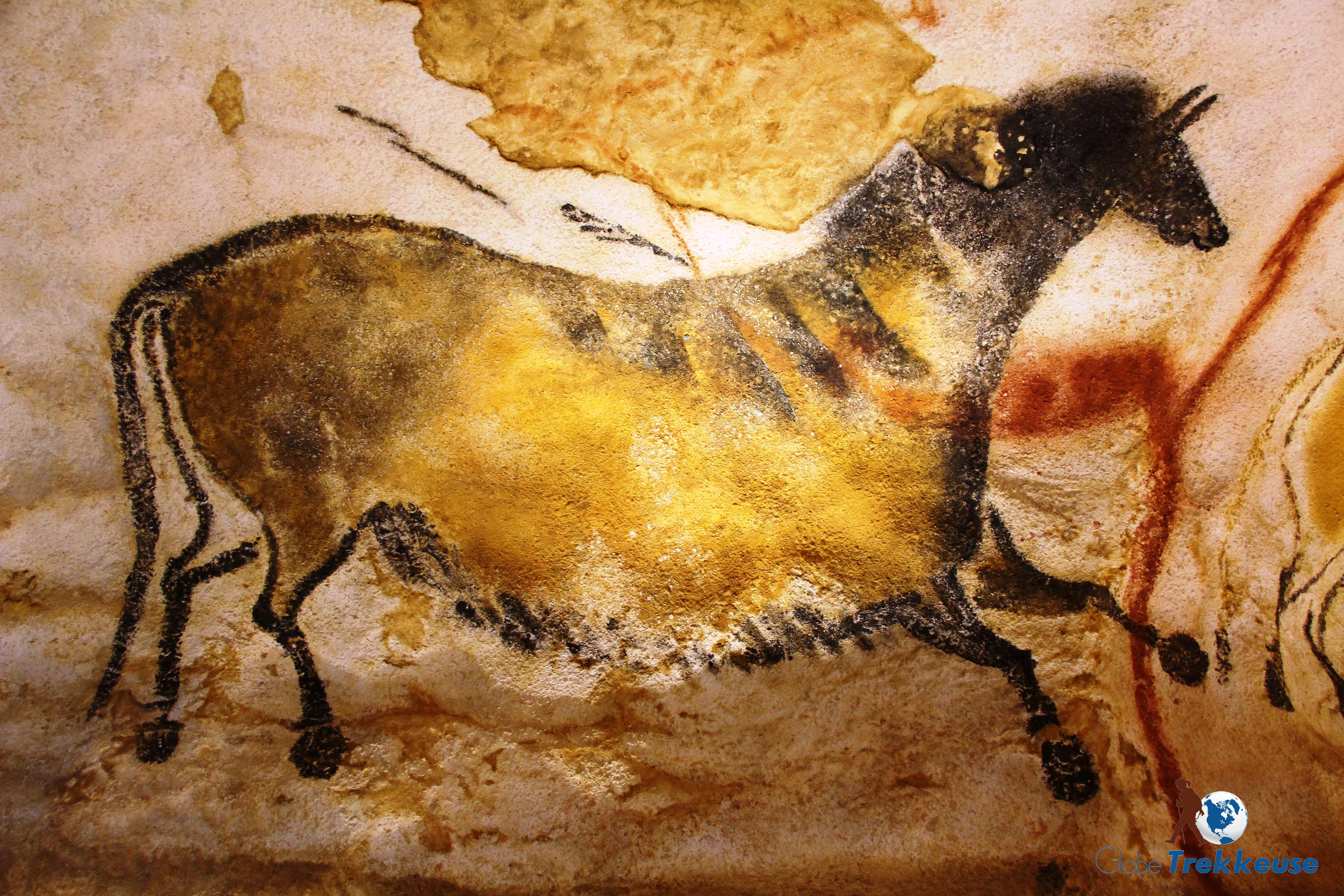 lascaux vallee dordogne cheval