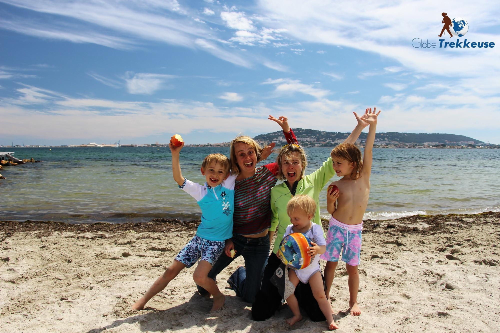 etang de thau balaruc plage famille