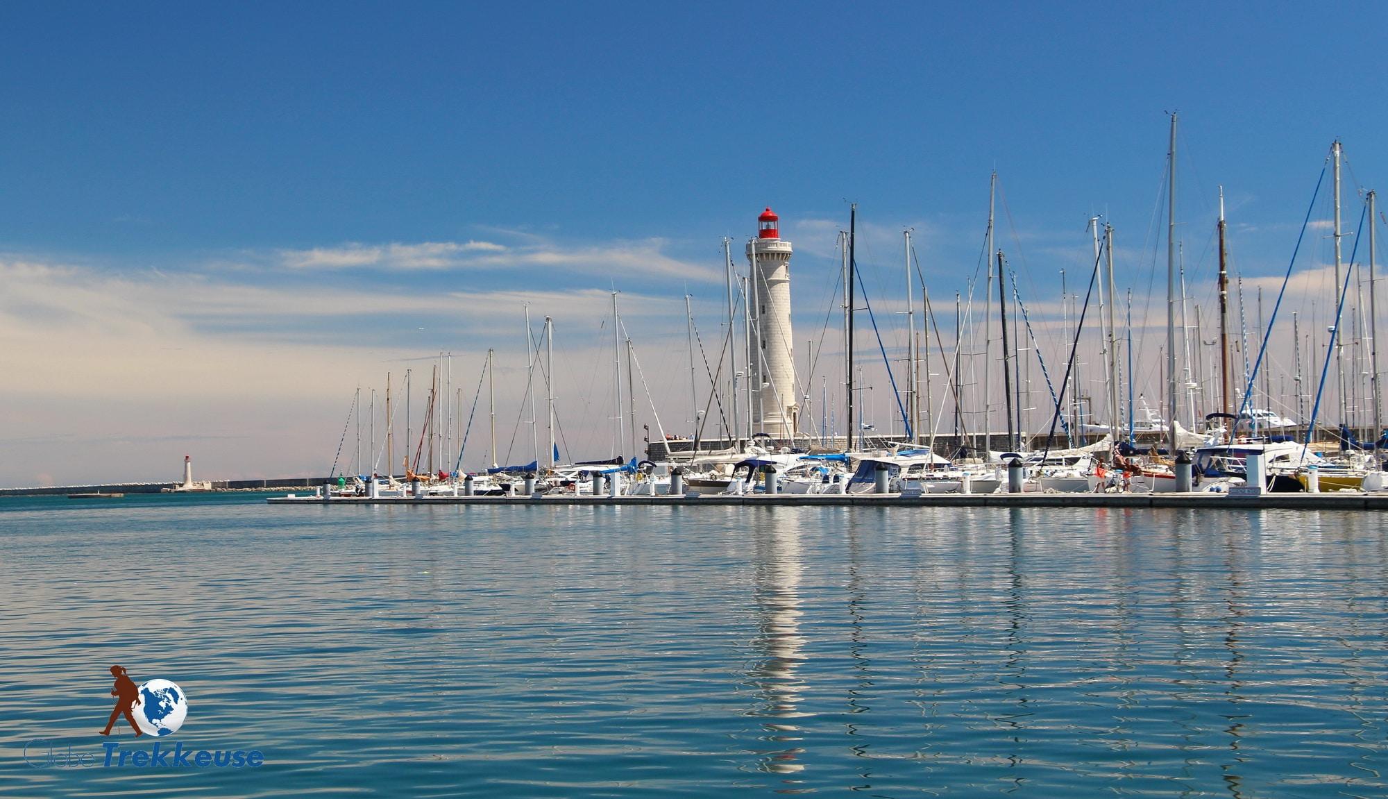 etang de thau sete phare port