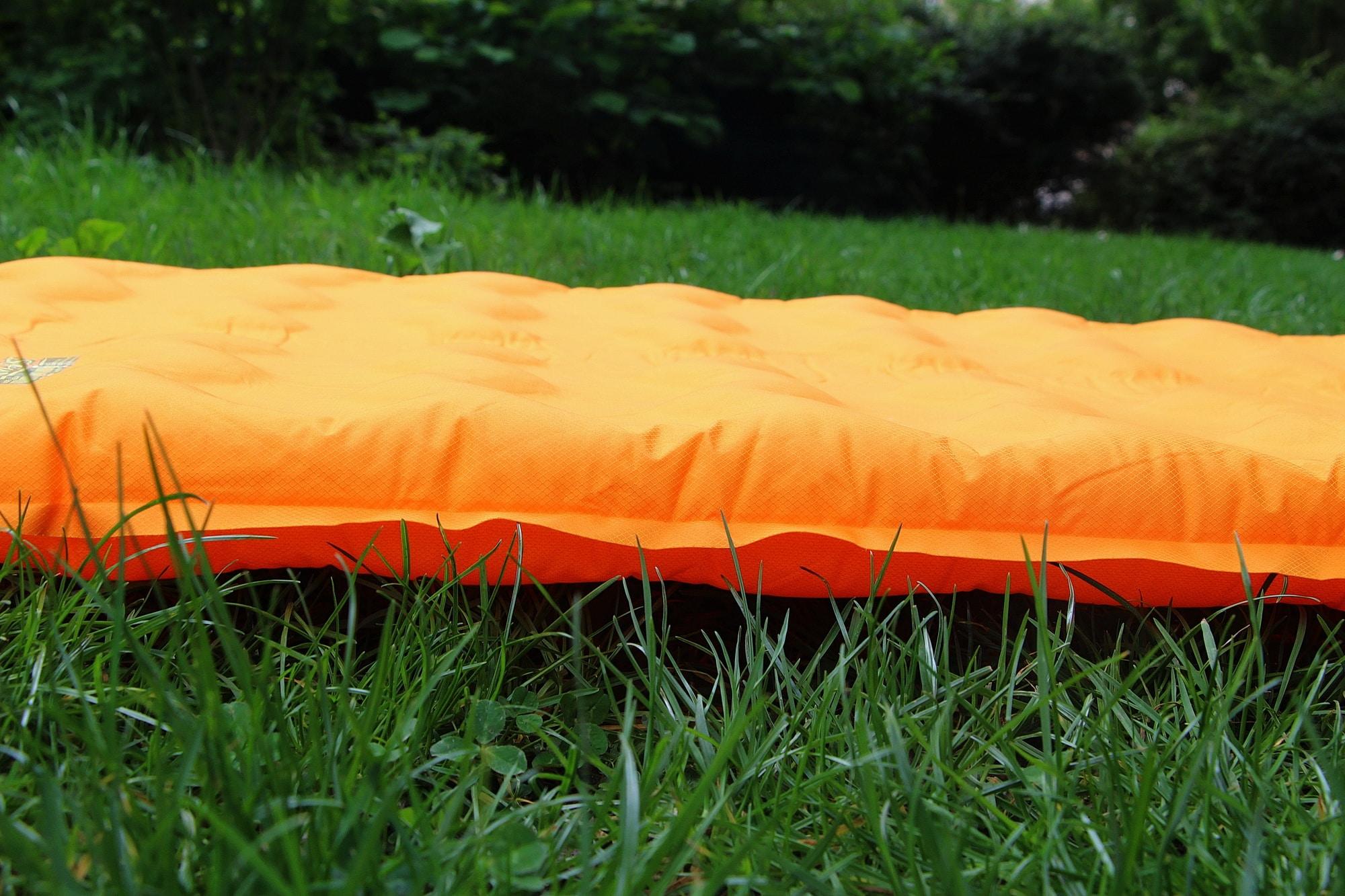 Globe trekkeuse matelas de camping thermarest evolite regular test - Dessus de matelas confort ...