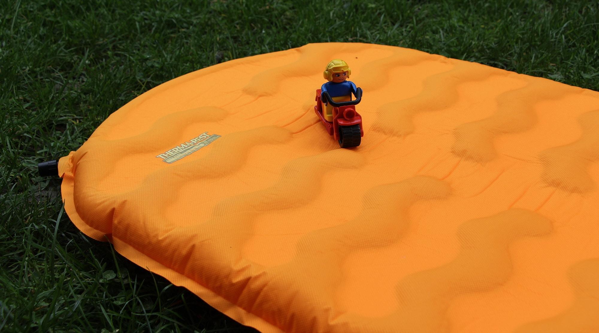 matelas camping thermarest evolite design