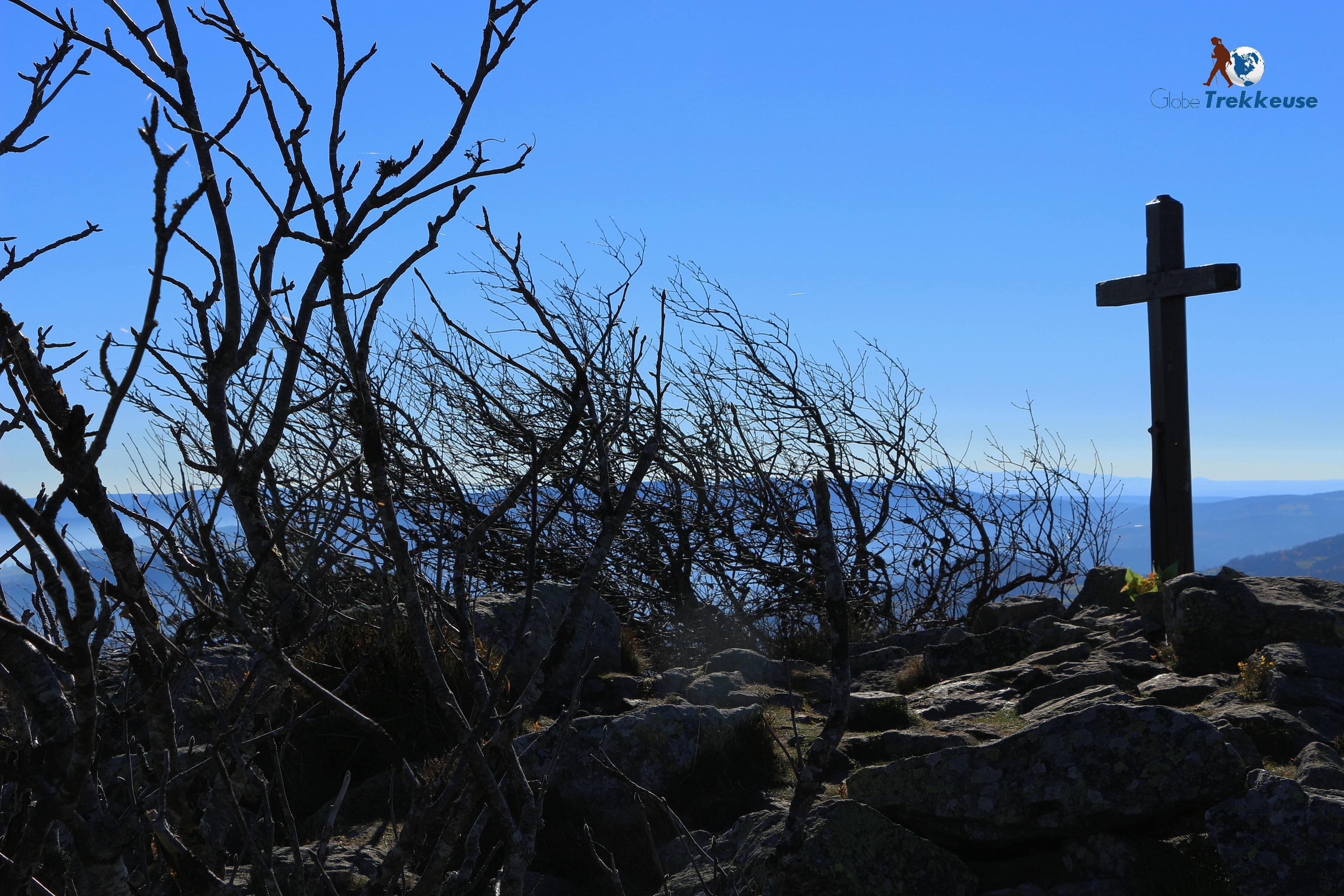 randonnée autour de lyon pilat croix