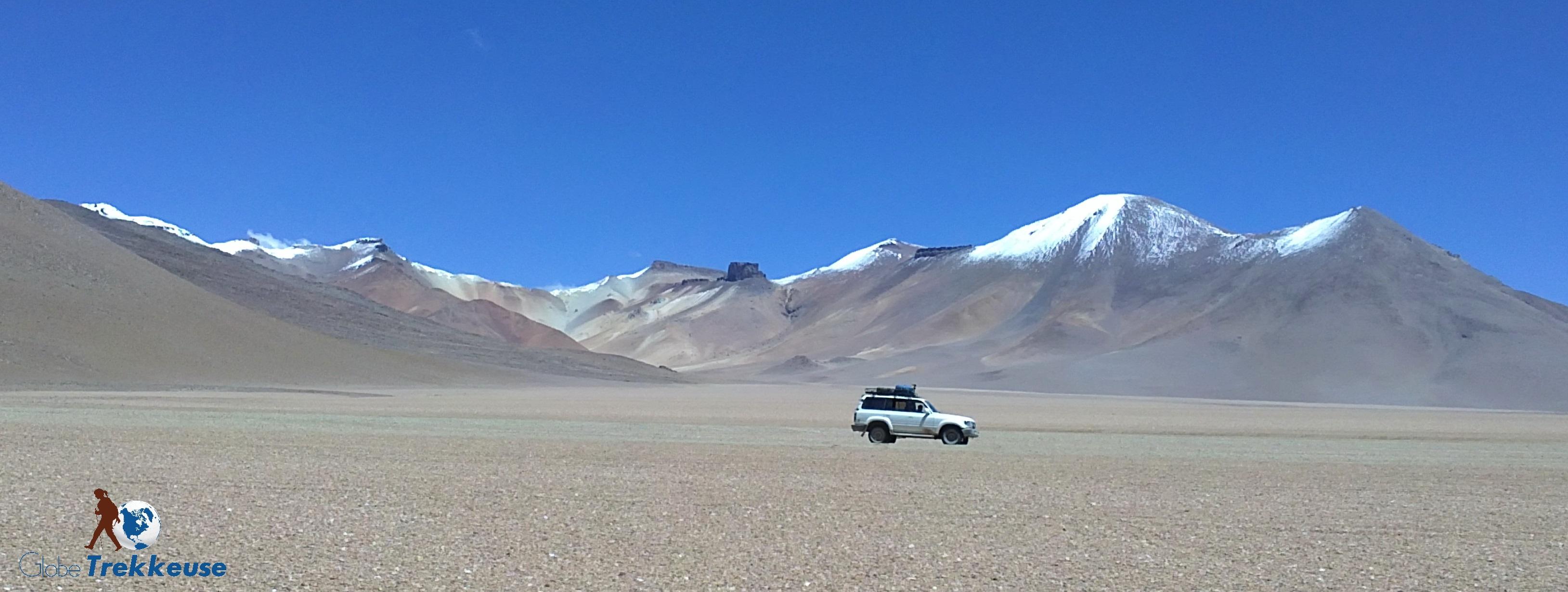 voiture en voyage bolivie lipez